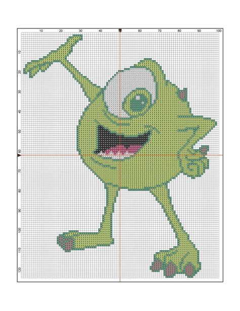 1000+ images about Monster Inc Cross Stitch on Pinterest