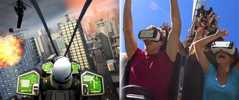 Virtual Reality Goggles Used to Intensify Roller Coaster